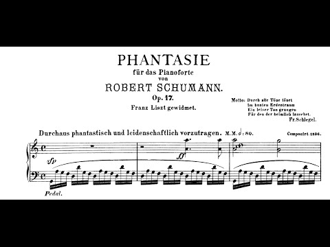 Schumann: Fantasie in C, Op.17 (Andsnes)