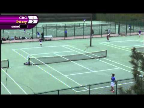Varsity Tennis Vs  Priory