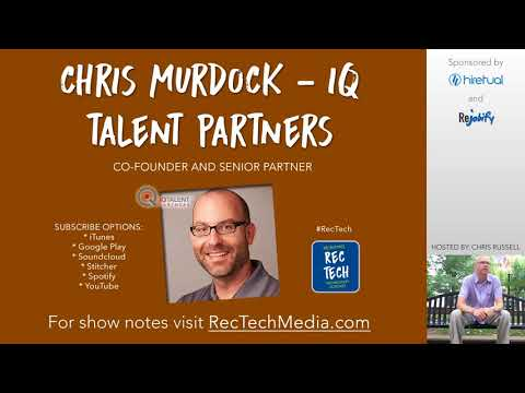 Chris Murdock from IQ Talent Partners