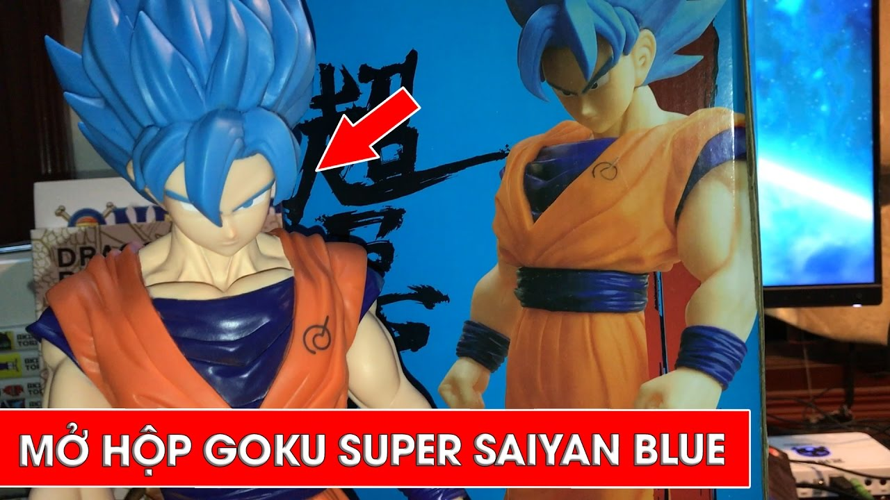 Mở hộp Son Goku Super Saiyan Blue - Unboxing Son Goku Super Saiyan Blue - YouTube