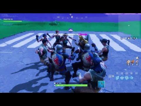 Fortnite - group horse riding dance