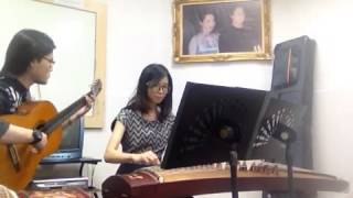Rhythm of the rain (Guzheng+Guitar)