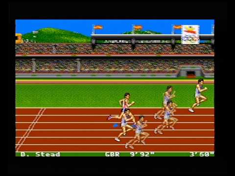 TV SW (PL) - Olympic Gold Barcelona 1992 (Mega Drive) Gameplay