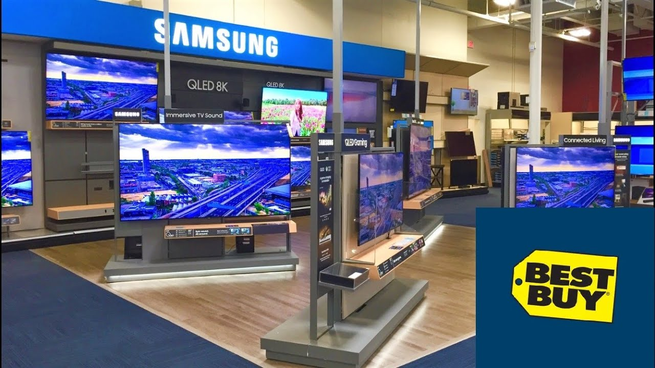 Best Buy Reopening Televisions Smart Tvs 85 Inch Tvs 4k Tvs Shop With Me Shopping Store Walkthrough Youtube
