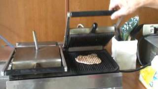 hy 751 contact grill plate server