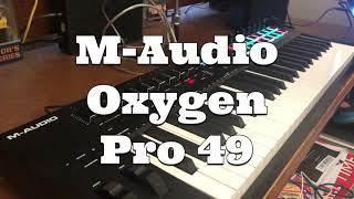 M-Audio Oxygen Pro 49 reaction