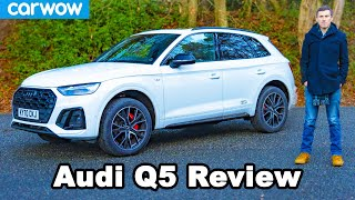 Audi Q5 2021 review - better than a BMW X3 & Mercedes GLC?
