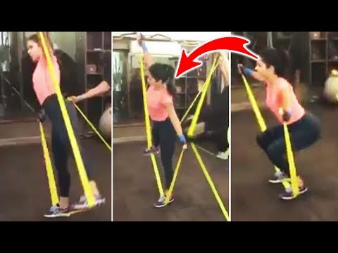 Katrina Kaif HOT LATEST WORKOUT Video -...