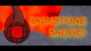 ROBLOX-Pokemon Brick Bronze-part 12-THE BRIMSTONE BADGE!!!!!!!