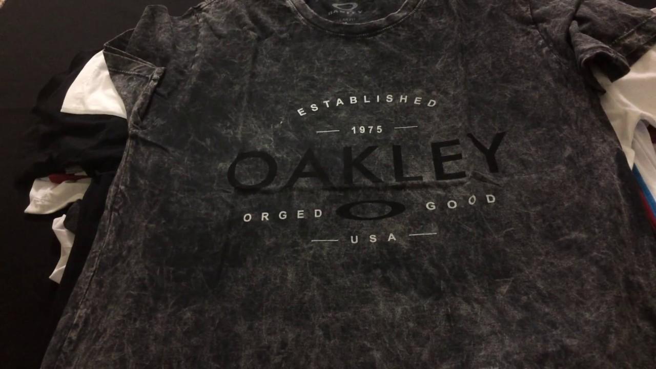 Camisetas Oakley no Atacado - Coleção 2017 - Fornecedor. Camisetas de Marca 019fa3dc5e