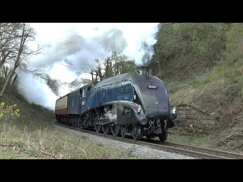 North Yorkshire Moors Railway - Spring Steam Gala 2015