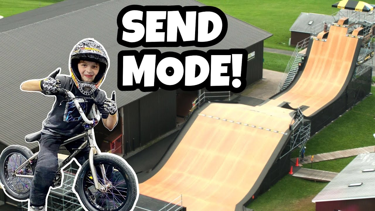 New BMX Tricks In Competition!! SEND MODE ON!!