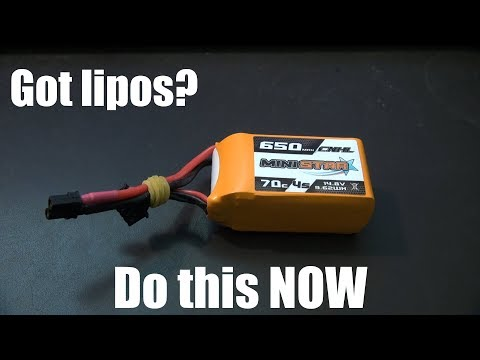 If You Have Lithium Polymer Batteries, Do This Now!