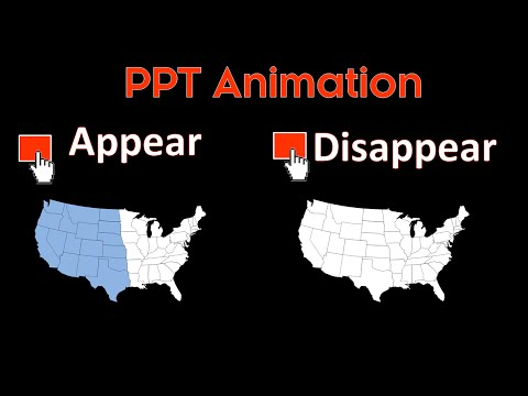 PPT Animation Trick: Making Objects Appear and Disappear On-Click with Animations