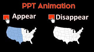 Making Objects Appear and Disappear On-Click (PowerPoint Animations Trick)