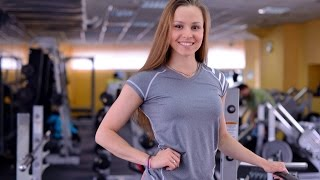 Тренировка ягодиц, спины и груди для начинающих с Елизаветой Мукминовой