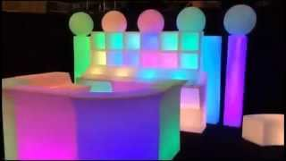 Led Glow Furniture Rentals |  407-730-3035 | Orlando, Florida