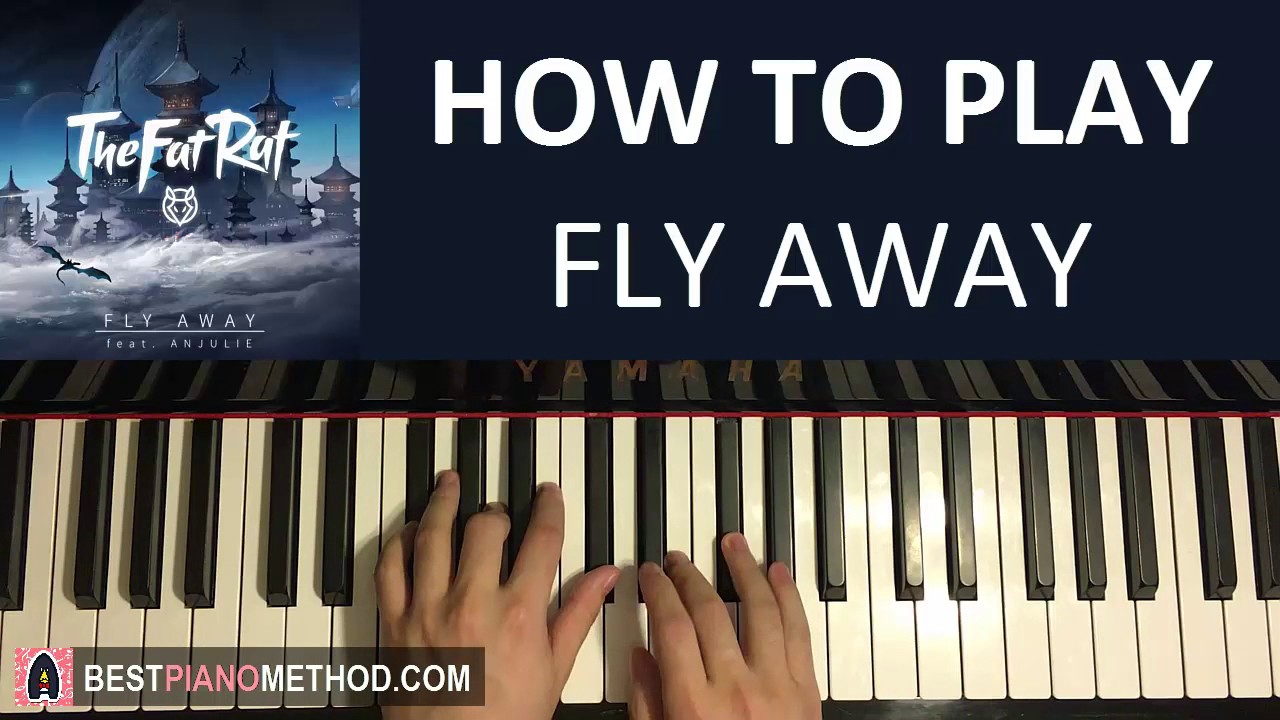 HOW TO PLAY - TheFatRat - Fly Away feat. Anjulie (Piano Tutorial Lesson)