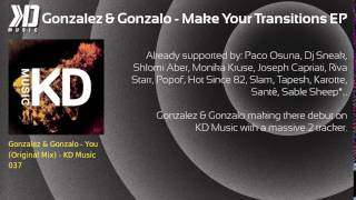 Gonzalez & Gonzalo - Make Your Transitions EP - KD Music 037