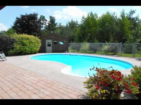 Jeffery home on conservation lot w inground pool oshawa for Inground swimming pools sale