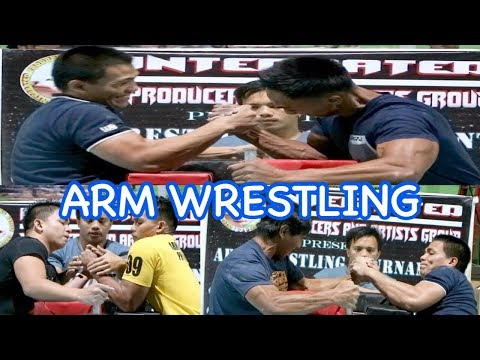 ARM WRESTLING | LA TRINIDAD BENGUET | INTEGRATED PRODUCERS AND ARTISTS GROUP | JULY 5, 2019