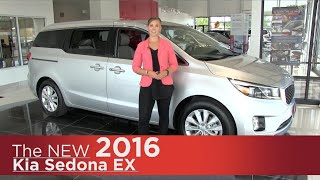 The New 2016 Kia Sedona EX- Elk River, Brooklyn Park, Minneapolis, St Paul, St Cloud MN Review