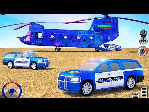 trò chơi lái xe mô phỏng, vận chuyển xe cảnh sát % police Car Driving Simulator Android Gameplay