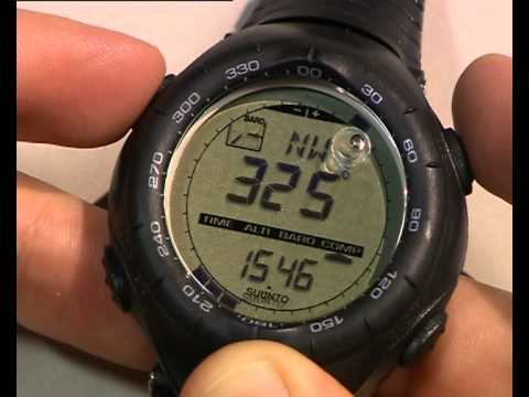 Suunto Vector Heart Rate Monitor How To Calibrate A Compass Youtube