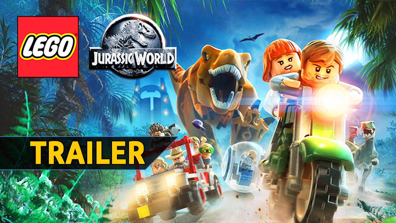 Lego Jurassic World Trailer De Dinosaurios Espanol Youtube