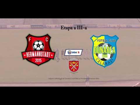 REZUMAT FC Hermannstadt vs AFC Dunărea Călăraşi 2 - 1