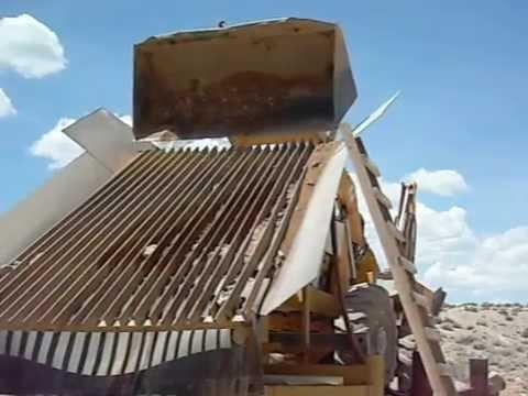 Osceola Nevada Gold trommel mining