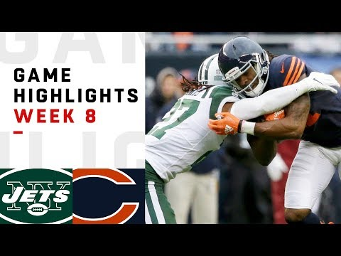 Jets vs. Bears Week 8 Highlights | NFL 2018