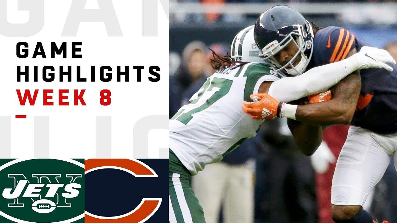 Jets vs. Bears Week 8 Highlights   NFL 2018