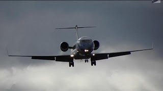 Nav Canada CRJ-200 (Flight Inspection) Missed Approach + Landing at YQB