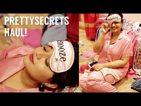 PrettySecrets HAUL! How to buy lingerie online | corallista