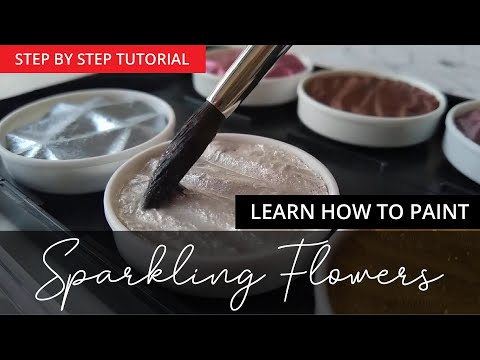 TUTORIAL - Learn how to draw Sparkling Magnolia Flower Illustration. thumbnail