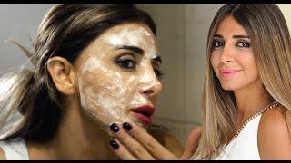 خلطة بيكربونات الصودا لتقشير وتبييض الوجه