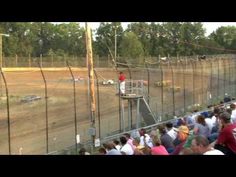 Moler Raceway Park Ronnie Douglas Heat Race 6-26-09