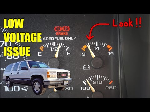 [DIAGRAM_09CH]  SOLVE A LOW VOLTAGE ISSUE! - YouTube | Chevrolet Battery Gauge Wiring |  | YouTube