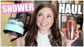 Bridal Shower Haul + What I Registered For! 2018
