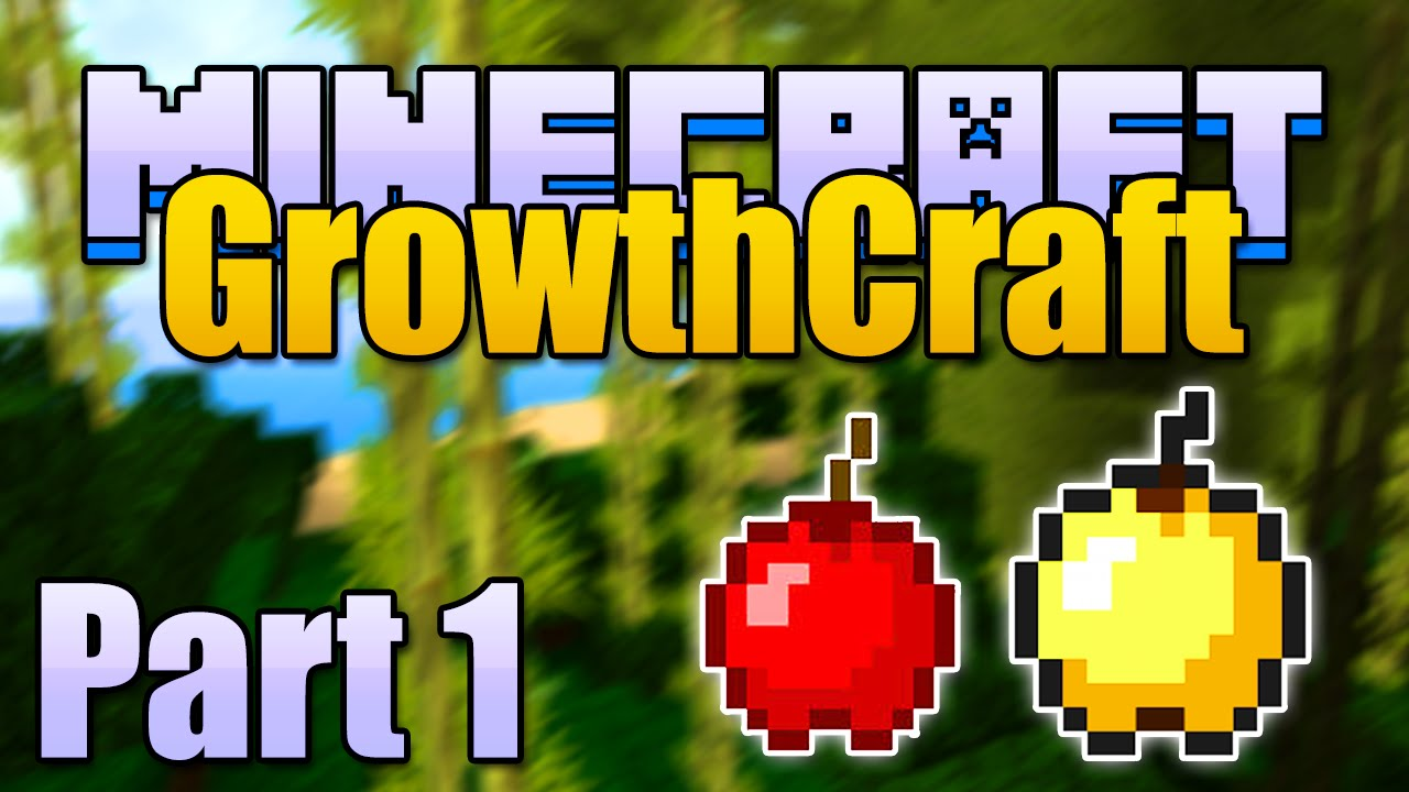 Minecraft APPLE TREES & BAMBOO Mods - Growthcraft Part 1/4 (Minecraft  v1 6 4 Mod Spotlight)