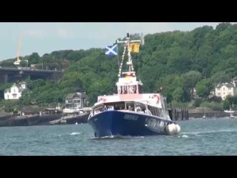 Boat trips of the Firth of Forth, Edinburgh, Scotland
