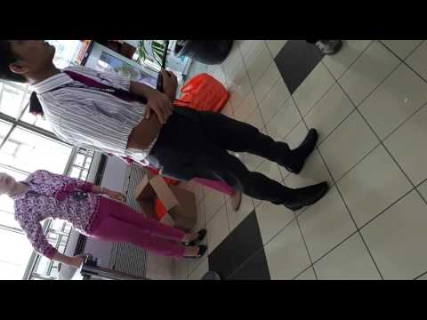 Kejadian NAM AIR di Di bandara Manado