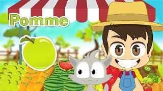 Fruits in French for Kids - أسماء الفواكه باللغة الفرنسية للأطفال