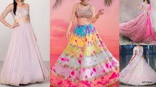 Beautiful Designer Wedding Lehenga Designs - Party Wear & Festive Lehenga Choli For Women & Girls
