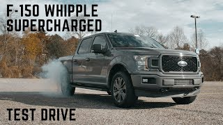 F-150 Whipple Supercharged Test Drive