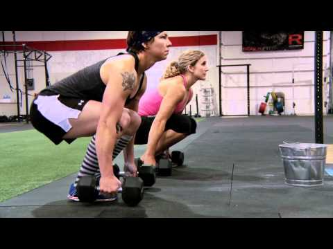 CrossFit WOD Demo with CrossFit West Santa Cruz