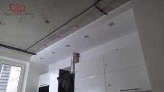 видео Короба для вытяжки на кухне