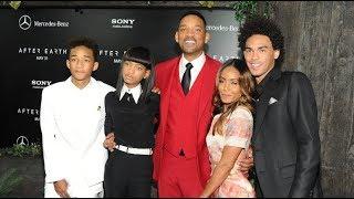 Уилл Смит  и его семья