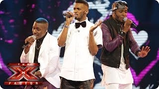 Rough Copy sing I Want It That Way by the Backstreet Boys - Live Week 2 - The X Factor 2013